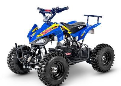 Electric ATV TR240 Blue and yellow TomRide