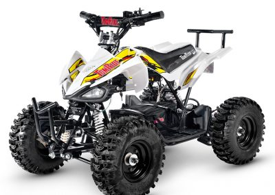 Electric ATV TR240 White and yellow TomRide